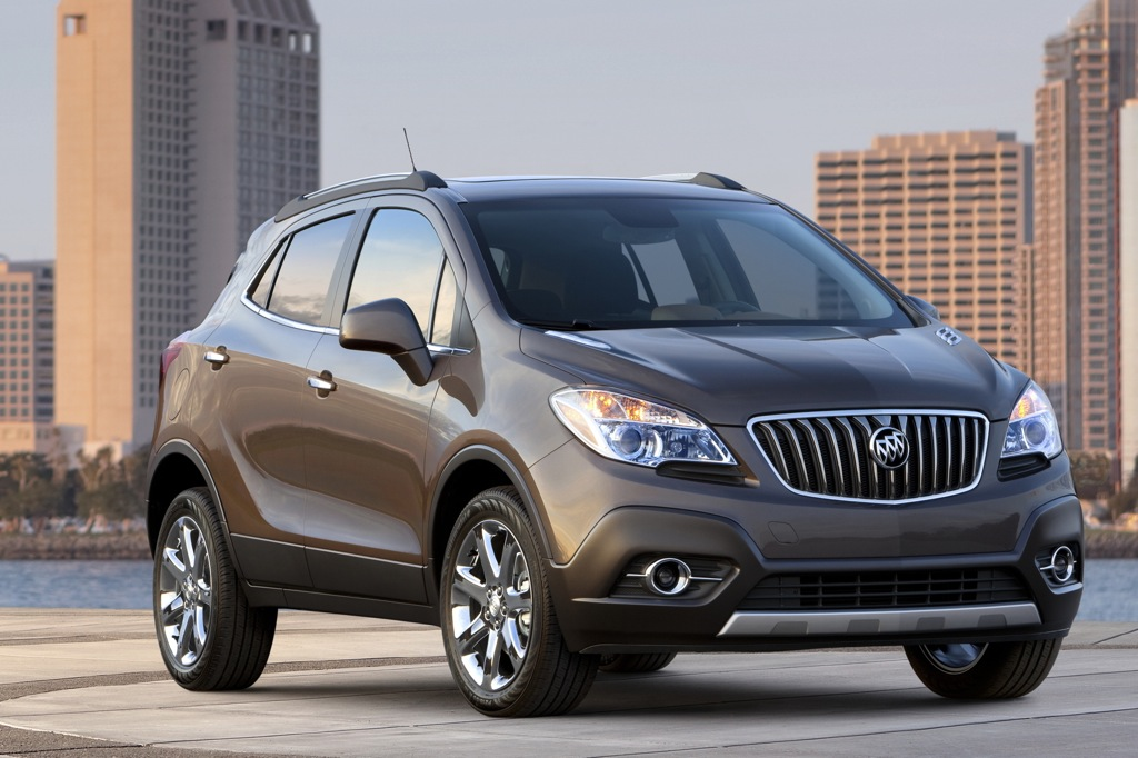 All-New 2013 Buick Encore Pricing Announced