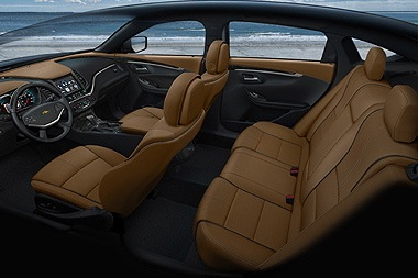 2014 Chevrolet Impala Won't Offer Front Bench Seat
