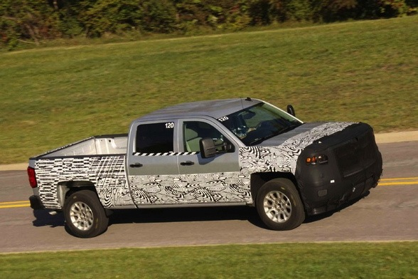 2014 Chevrolet Silverado Teaser Photo Revealed featured image large thumb0