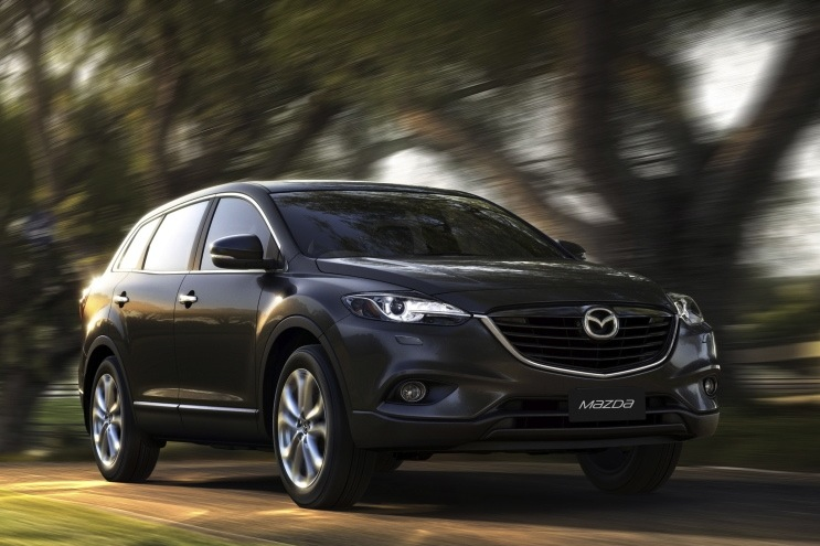 Refreshed 2013 Mazda CX-9 Revealed