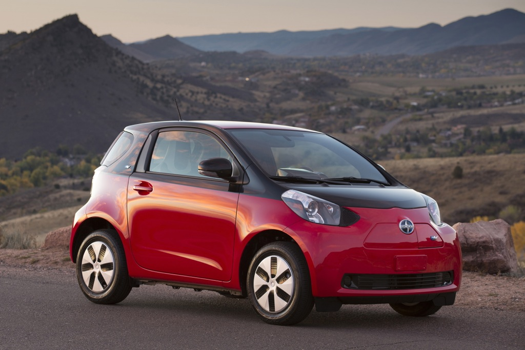 2013 Scion iQ Goes Electric