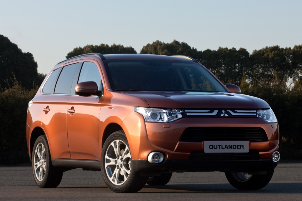 Next-Generation Mitsubishi Outlander Arriving Next Summer