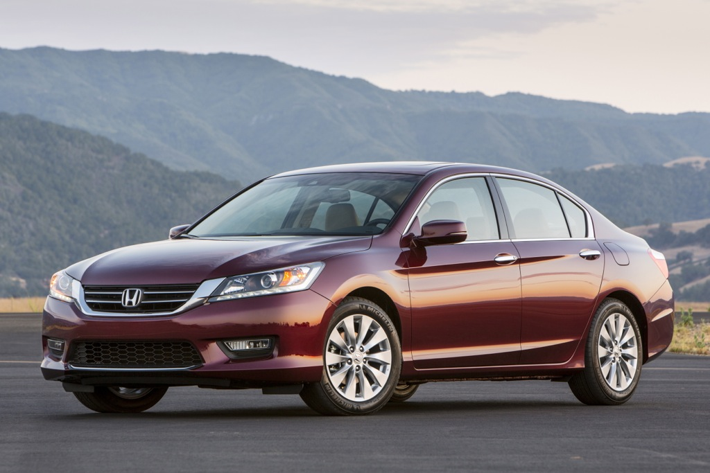 2013 Honda Accord Earns 5-Star NHTSA Safety Score