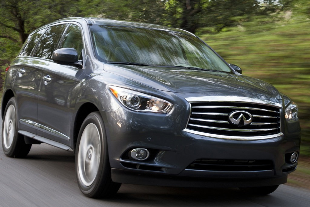 2014 Infiniti QX60 Crossover to Offer Hybrid Option