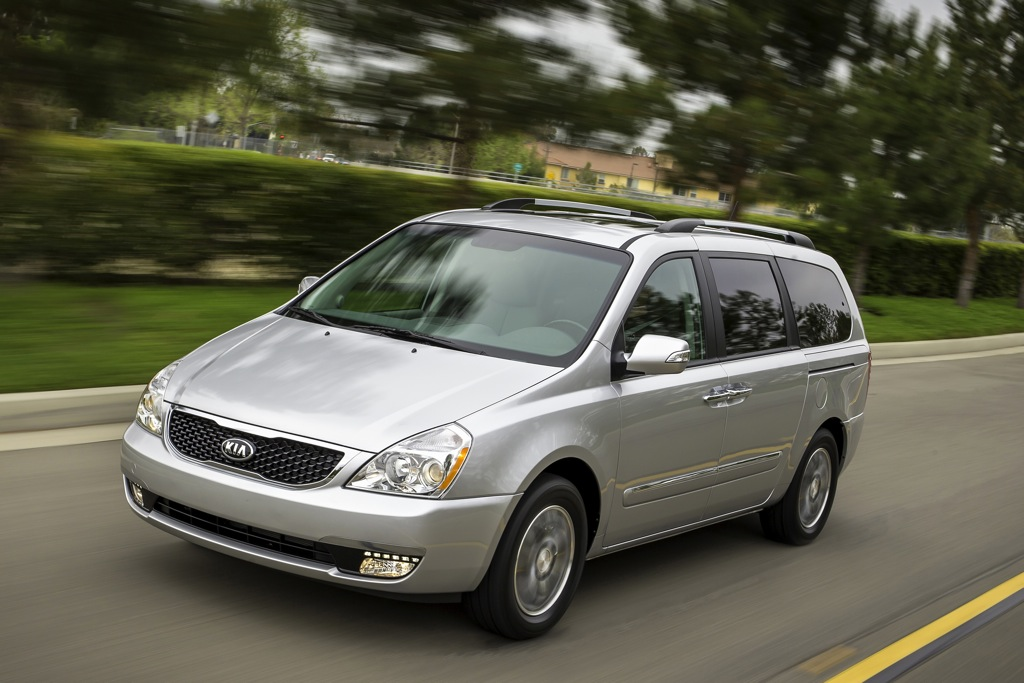 2014 Kia Sedona Updated With New Styling
