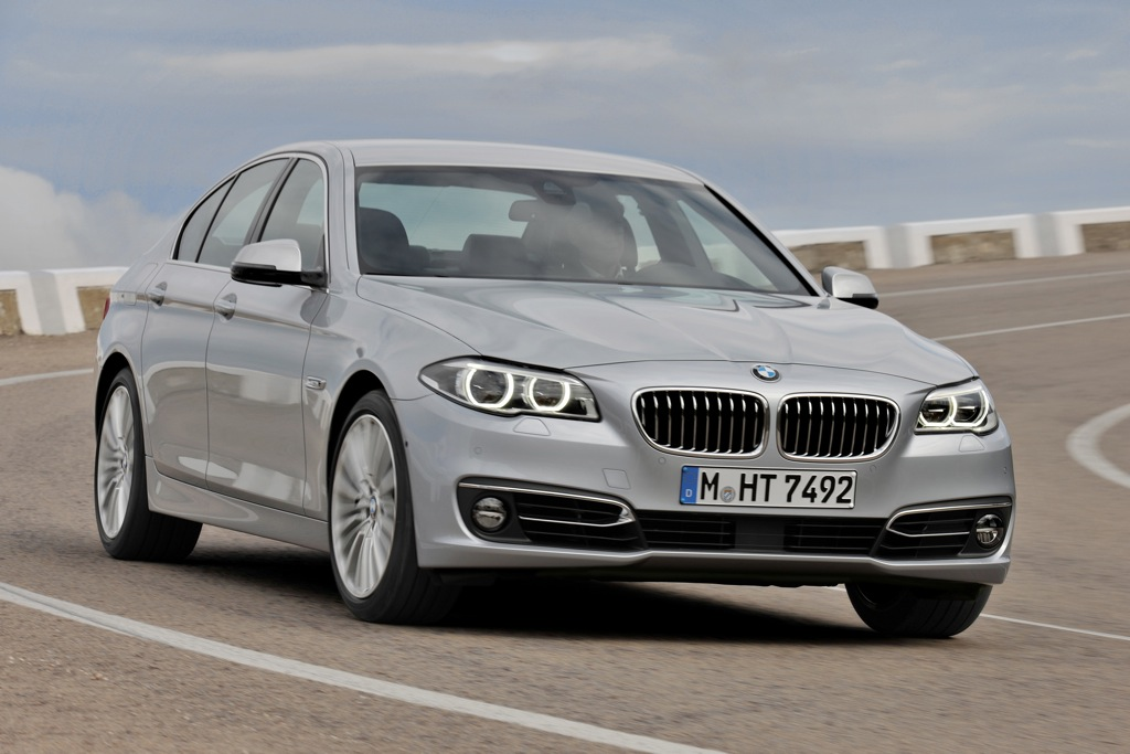 2014 BMW 5-Series Updated, Adds Diesel Model