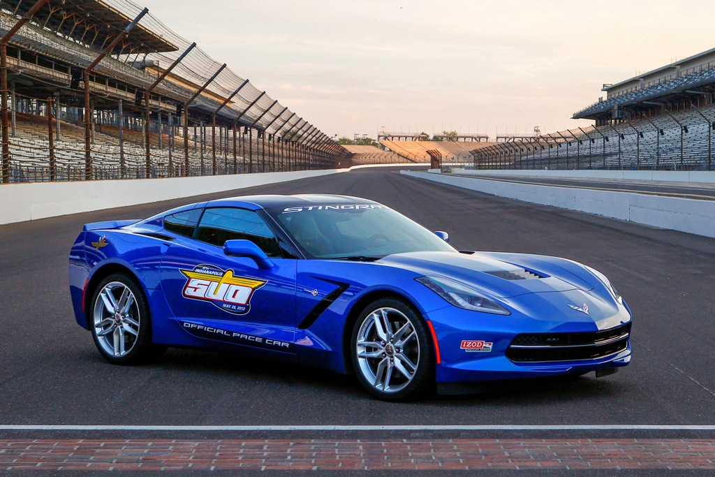 2014 Chevrolet Corvette Stingray Selected as 2013 Indy 500 Pace Car