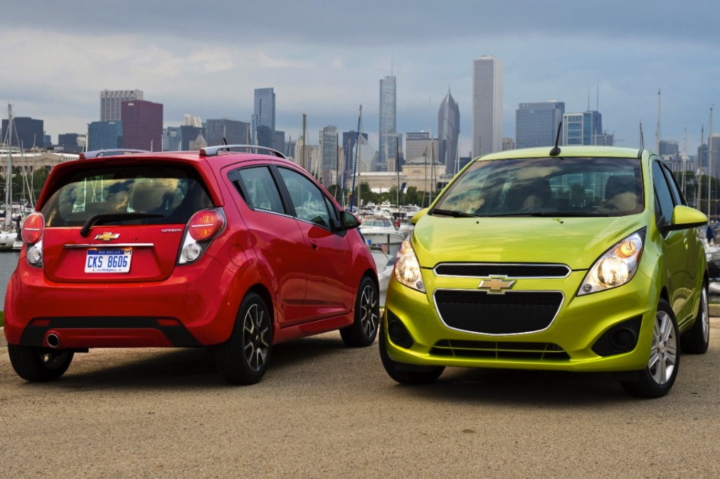 2014 Chevrolet Spark Gets CVT, Fuel Economy Boost