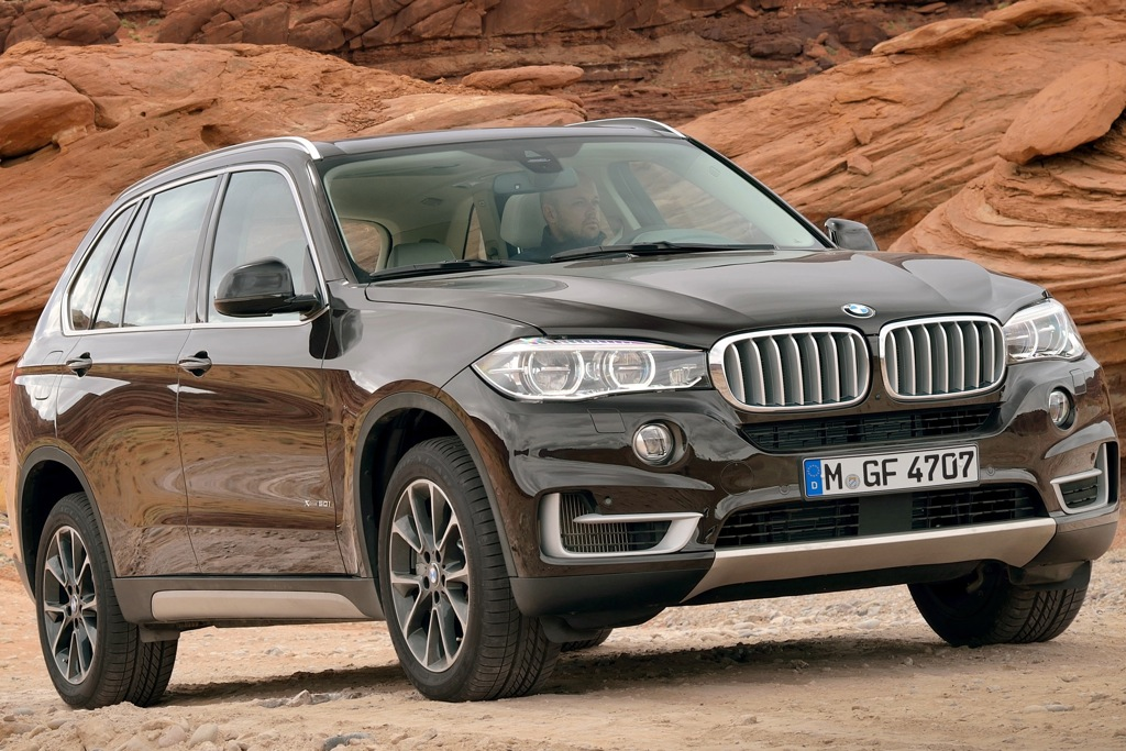BMW Unveils Fully Redesigned 2014 BMW X5 Crossover