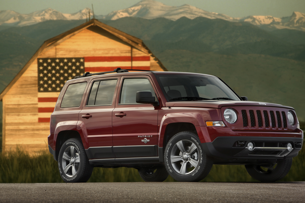 New Jeep Patriot Freedom Edition Benefits Military