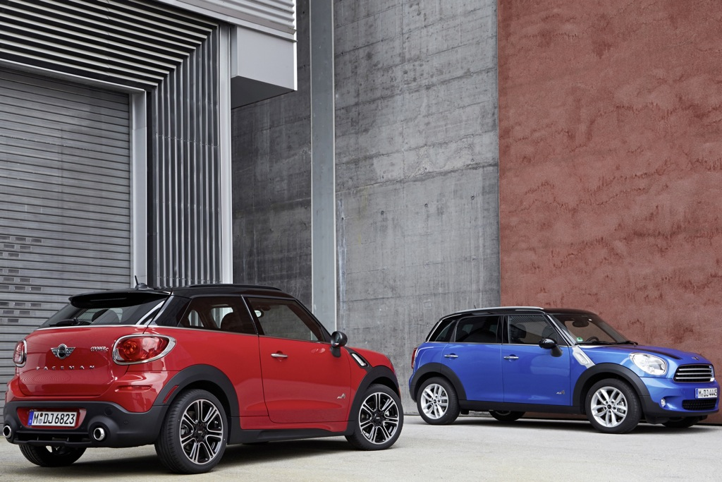 MINI Cooper ALL4 System Now Available on Base Models