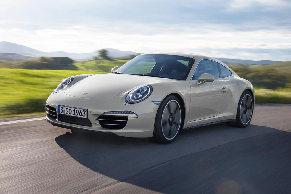 Porsche 911 Celebrates 50th Anniversary With Special Edition