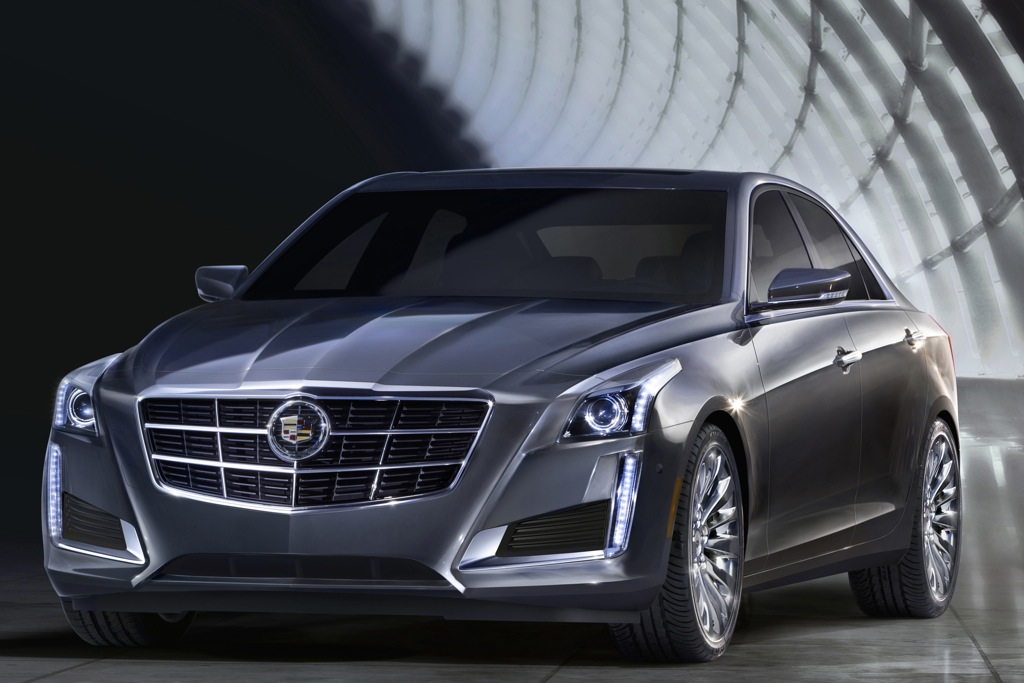 Redesigned 2014 Cadillac CTS Offers More Passenger Space