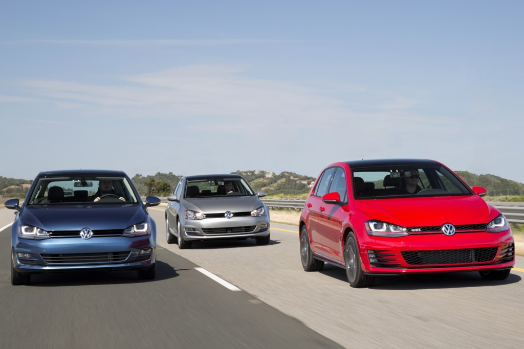 2015 Volkswagen Golf and GTI Earn IIHS Top Safety Pick+