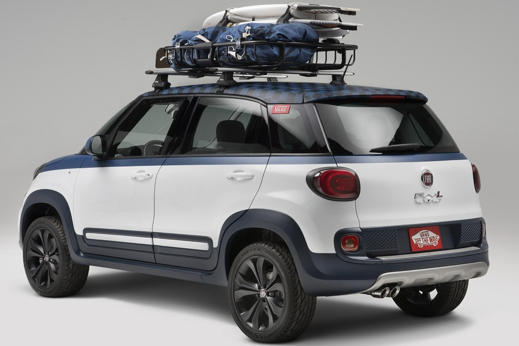 Surf-Inspired FIAT 500L Concept Debuts at California Surfing Competition