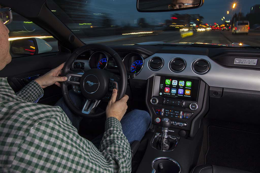 Ford Adds Apple CarPlay and Android Auto to SYNC 3