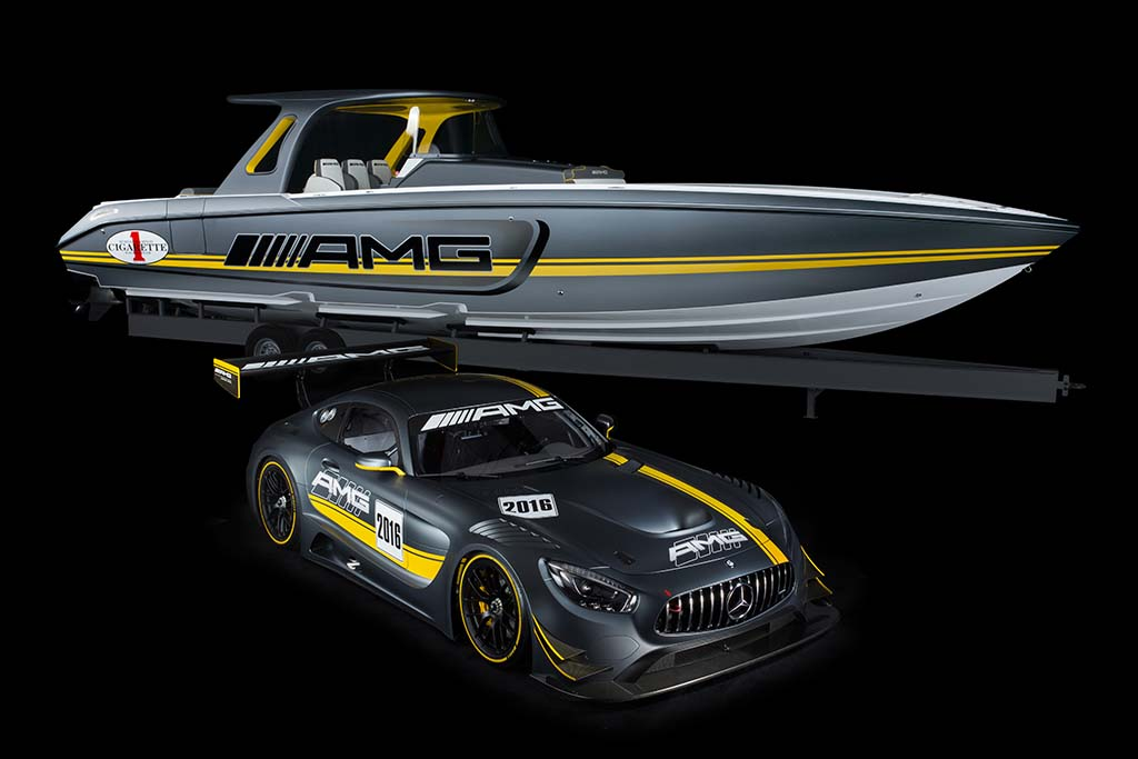 Mercedes-AMG and Cigarette Racing Make Waves in Miami