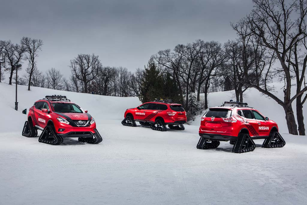 Nissan Winter Warrior Concepts Have a Different Approach to Snow