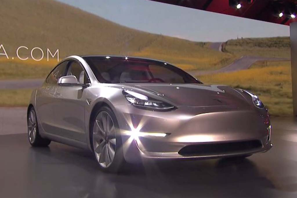 New Tesla Model 3 Officially Unveiled -- And You Can Order One