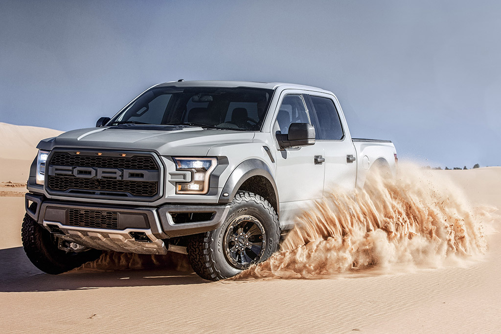 Win a Ford Raptor and a Modified Mustang in This New Giveaway