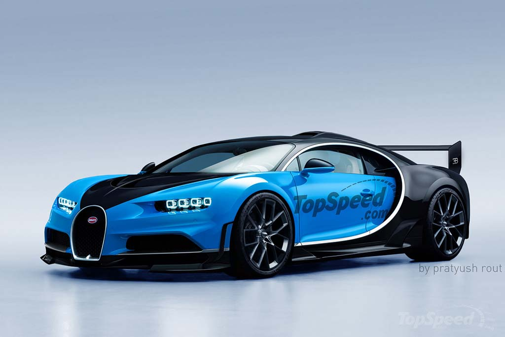 Here's What the Bugatti Chiron Super Sport Could Look Like