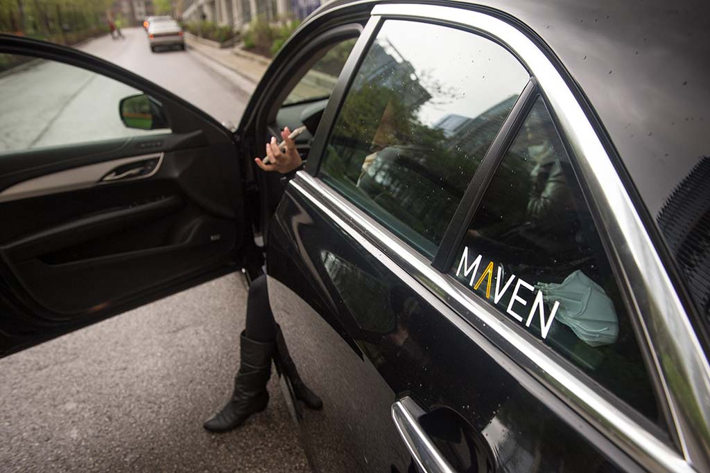 GM's Lyft-Partnered Maven Car-Sharing Service Expands