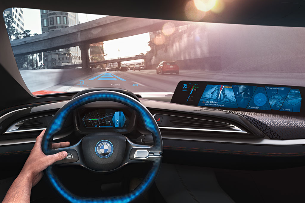 BMW and Intel to Debut Self-Driving Cars in 2021