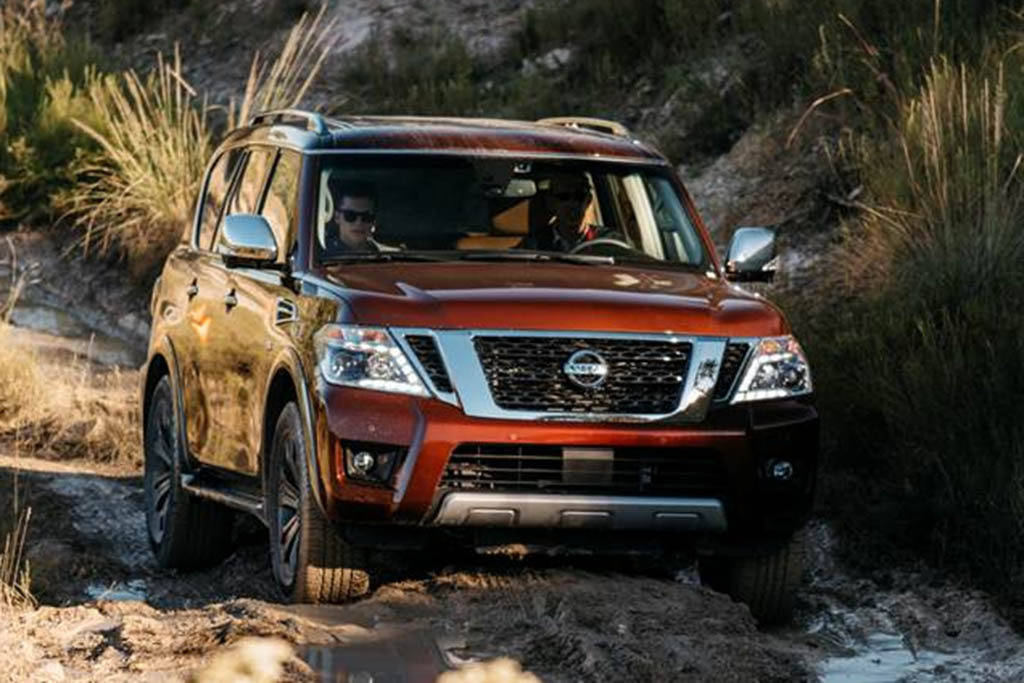 Redesigned 2017 Nissan Armada Named the SUV of Texas by Texas Auto Writers Association