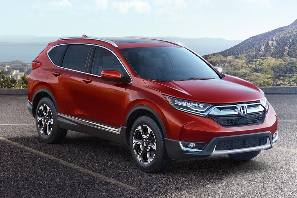 Honda Debuts the All-New 2017 Honda CR-V