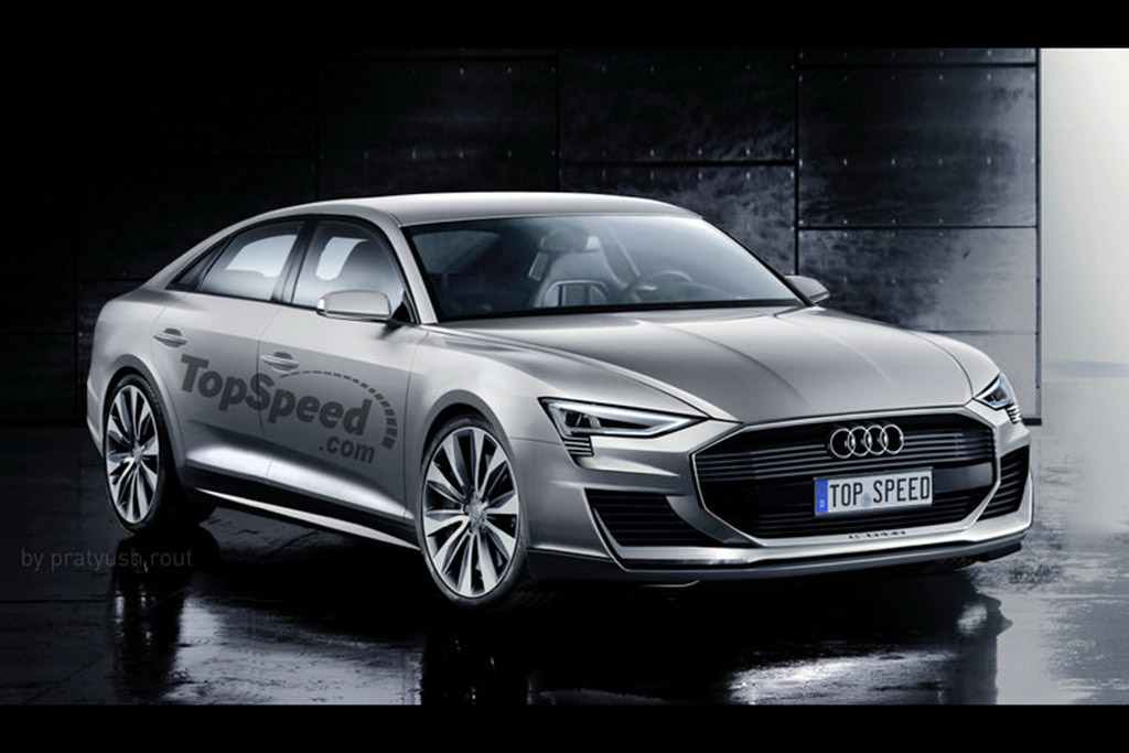 The Audi A9 E-tron Is Coming -- And Here's What It Might Look Like