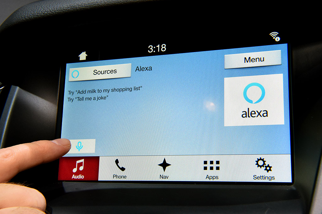 Amazon Alexa Coming to Ford Cars