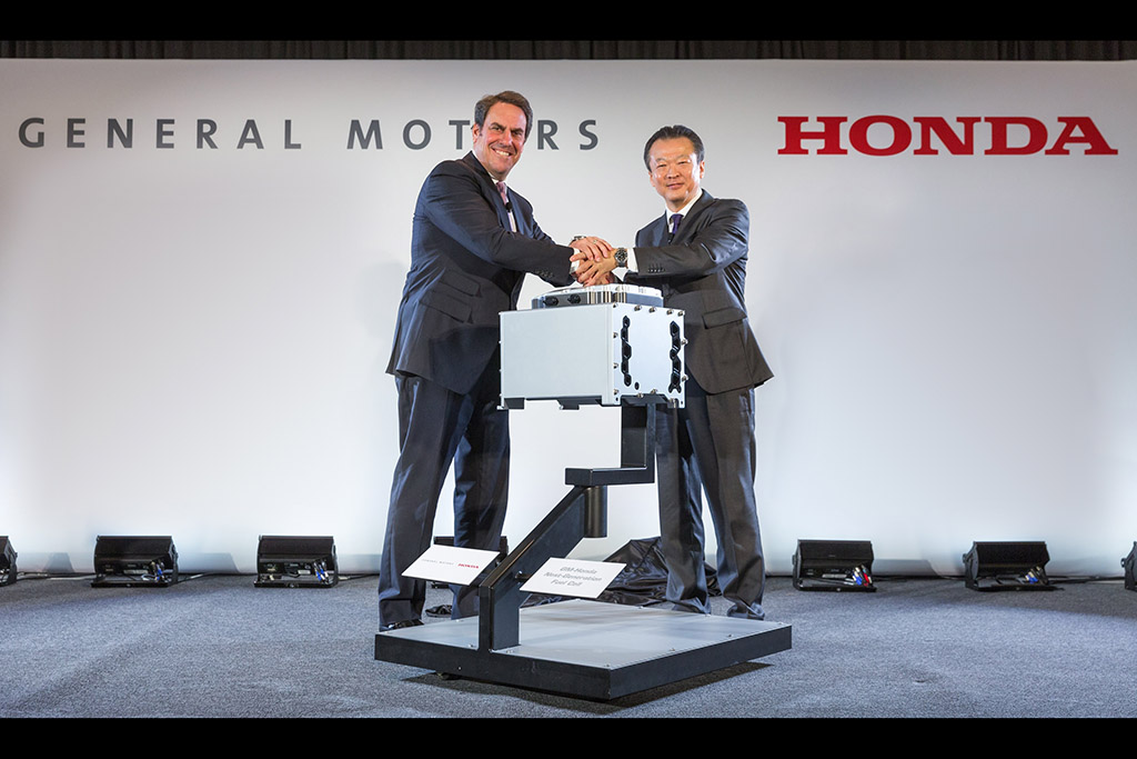 GM and Honda to Create Joint Fuel Cell Manufacturing Operation in Michigan