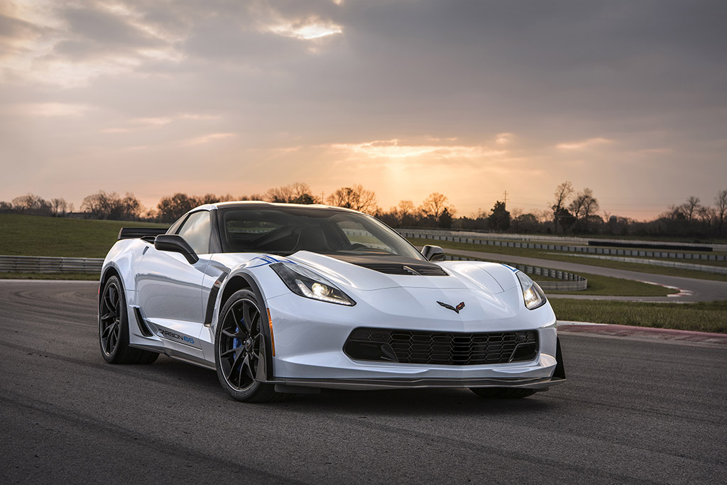 2018 Chevrolet Corvette Carbon 65 Edition Introduced