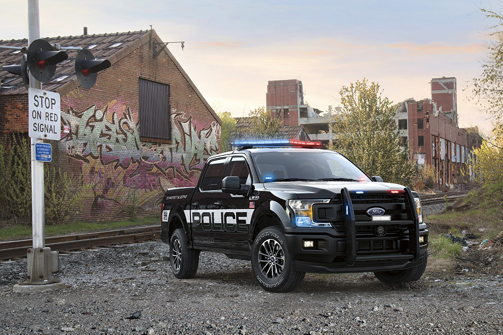 2018 Ford F-150 Police Responder Pickup Introduced
