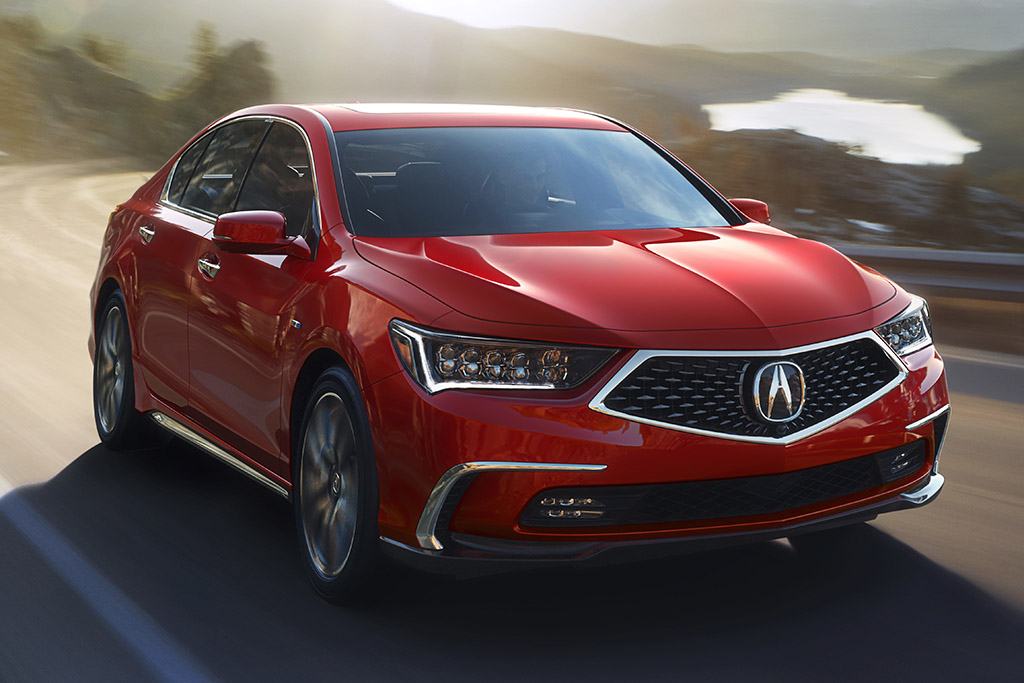 Acura Reveals 2018 Acura RLX at Monterey Car Week