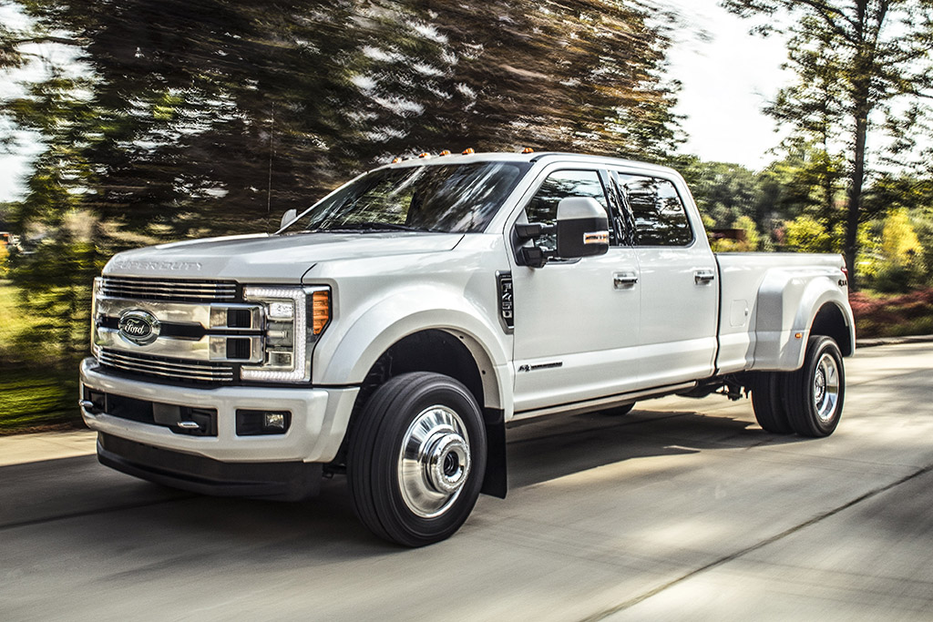 Unwrapped: 2018 Ford Super Duty Limited Revealed at State Fair of Texas