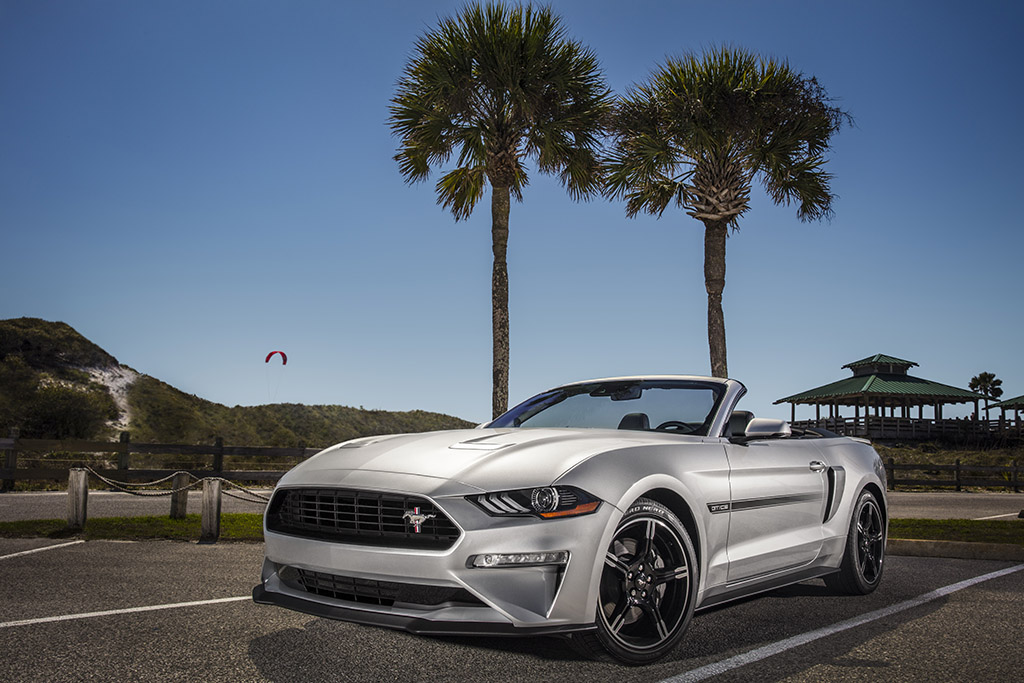 Ford Announces New Mustang GT California Special for 2019, Other Additions
