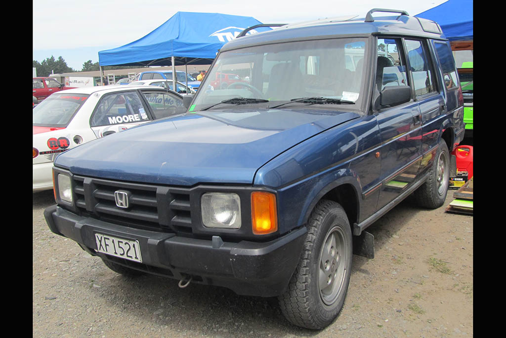 The Land Rover Discovery Was Once Rebadged as a Honda