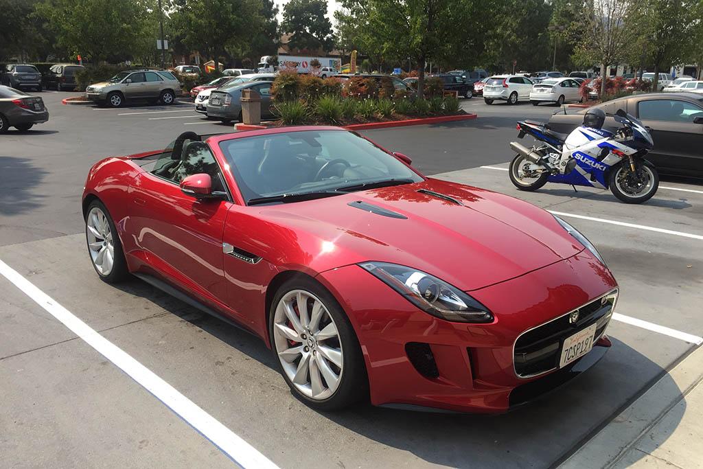 Why Rent a Normal Car When You Could Rent a 550-Horsepower Jaguar?