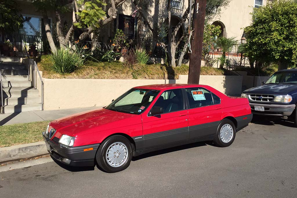 The Alfa Romeo 164 Was the Last Alfa Sedan Sold in America