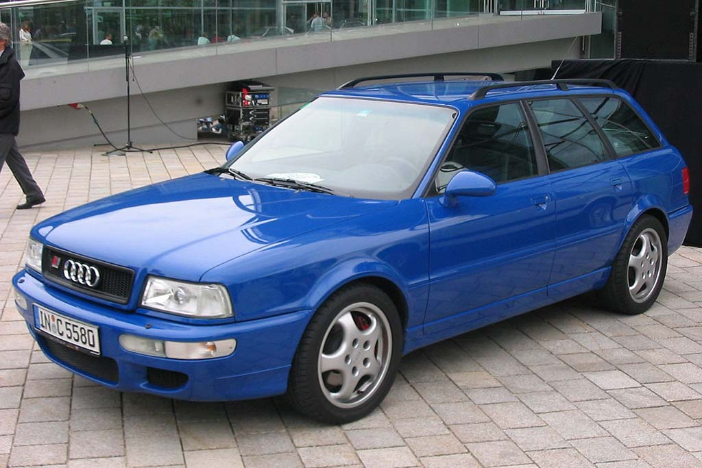The Audi RS2 Is the Coolest Wagon of Them All