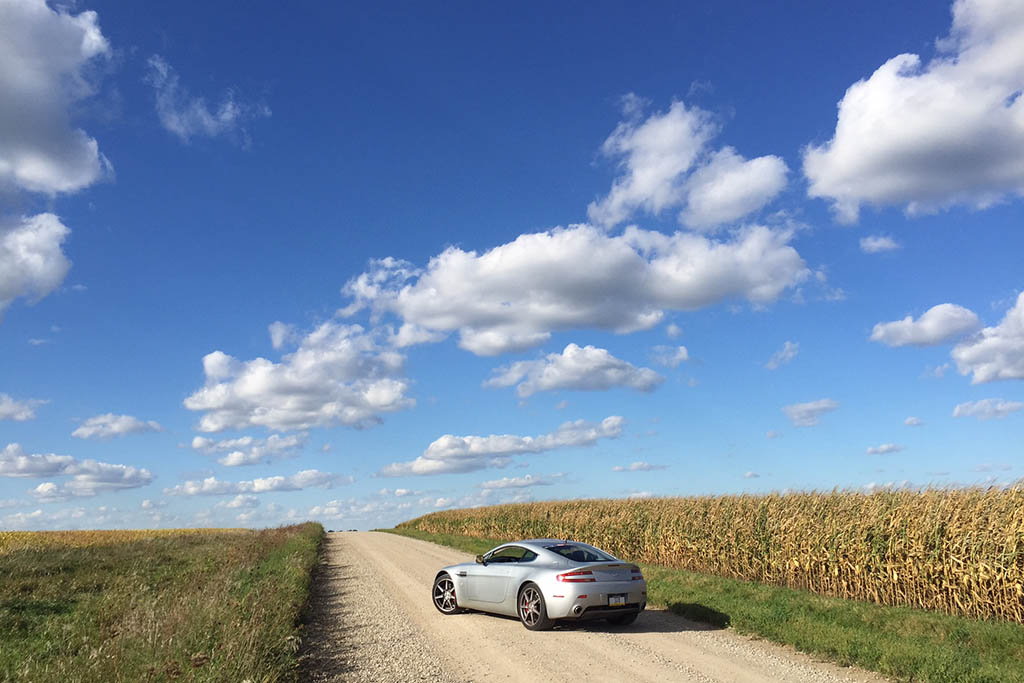 Here's What It's Like to Drive an Aston Martin Through the Middle of Nowhere
