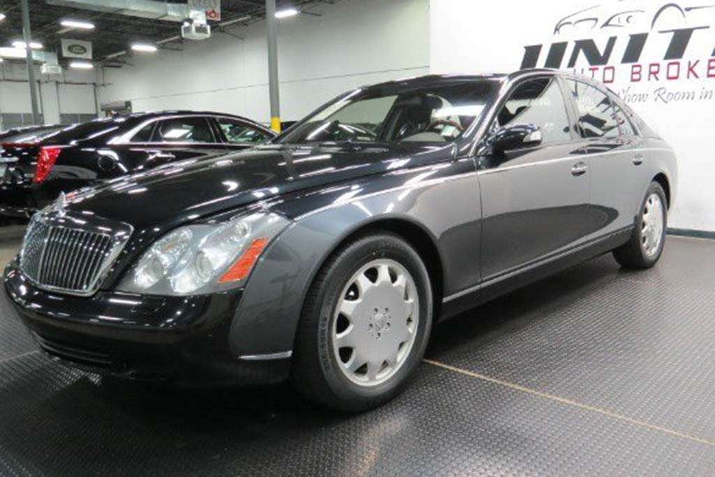 Autotrader Find: 81,000-Mile Maybach for Only $58,000