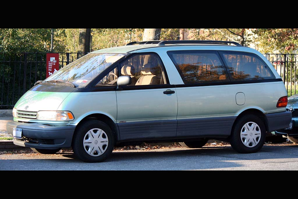 The Toyota Previa Is the Supercar of Minivans