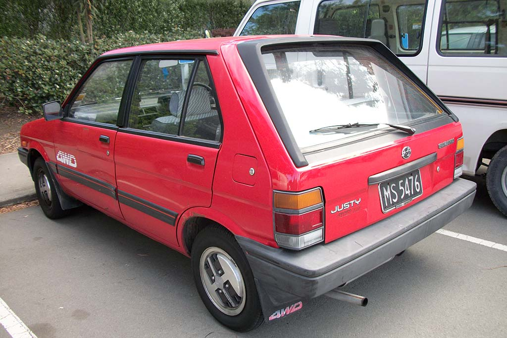 The Subaru Justy Proves That Subaru Wasn't Always Cool