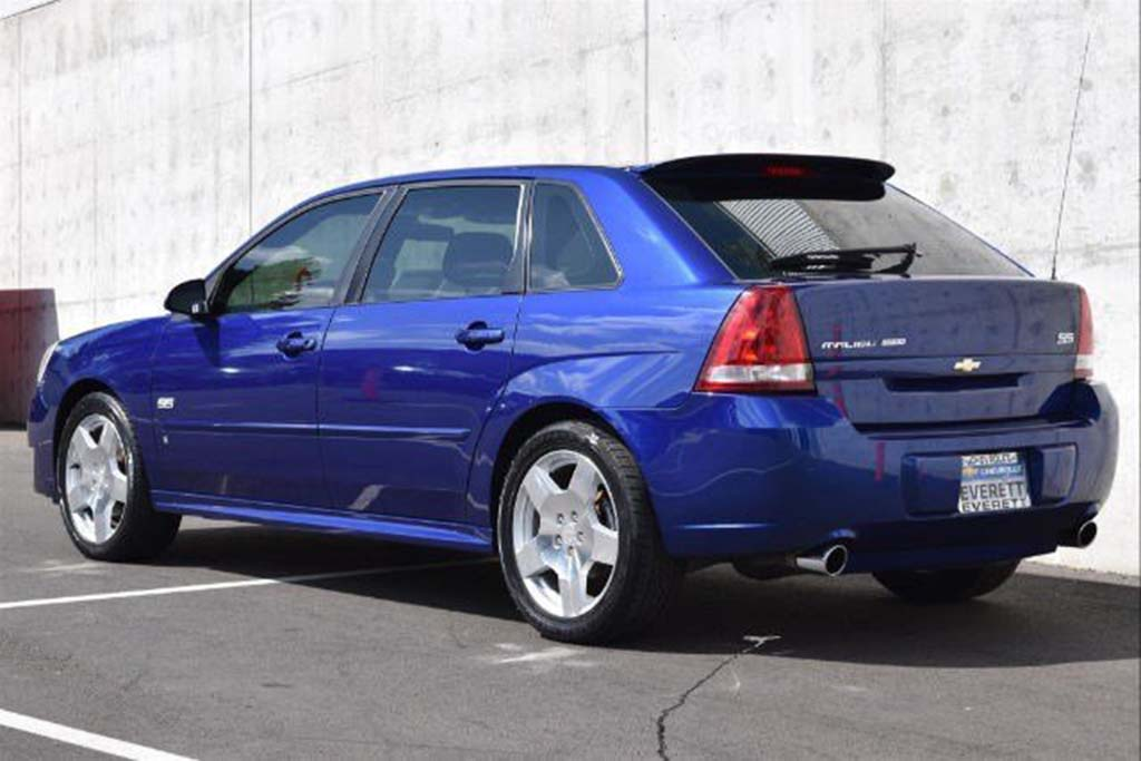 The Chevy Malibu Maxx SS Was Even Cooler -- and More Forgotten -- Than the HHR SS