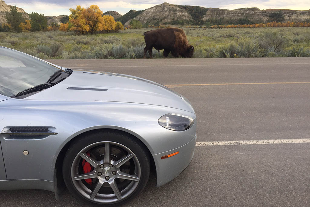 Here Are All the Numbers From My 6,522-Mile Cross-Country Aston Martin Road Trip