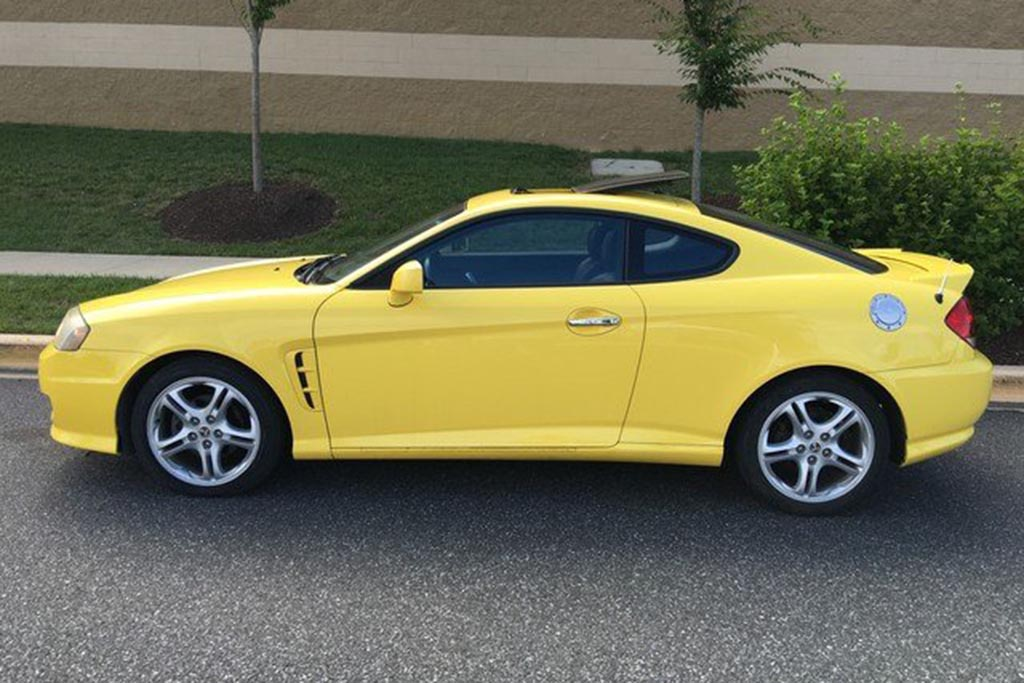Hyundai Tiburon: From Eh to Excellent