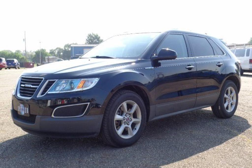 The Saab 9-4X Might Be the Rarest Regular Car of All Time