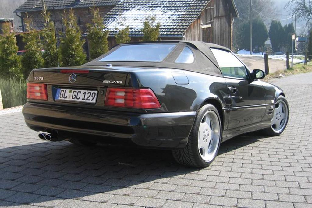 There Was a Mercedes SL With a Pagani Zonda Engine